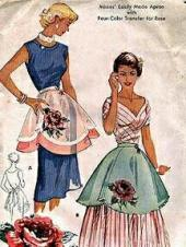 1960's Apron Pattern Cover