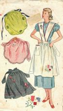 1950's Apron Pattern Cover