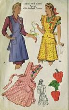 1940's Apron Pattern Cover