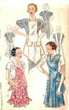 1930's Apron Pattern Cover
