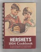 1970s Hersheys 1934 Cookbook reprint food company chocolate recipes hardcover. This has the best recipe for Chocolate Bread!