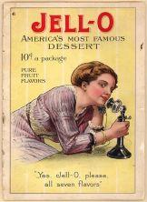 1910 Jello Dessert Cookbook
