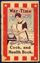 1917 War Time Cook and Health Books