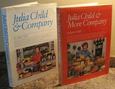 Julia Child and Company and More Company, 1970's editions. I loved watching her TV show when I was a child.
