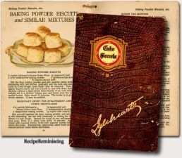 "1920's ""Cake Secrets"" Cookbook"