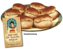 1920's The Art Of Baking Bread cookbook