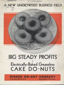 Electrically Baked Greaseless Cake Do Nuts
