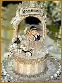Cake Topper - 1920's