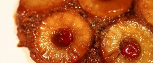 Pineapple Upside Down Cake was invented