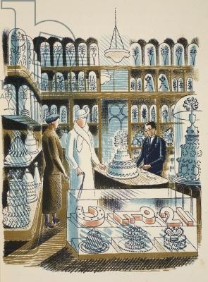 1930's Wedding Cake Shop