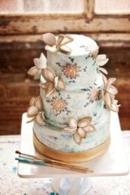Wedding Cake in a vintage 1920's look