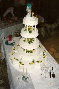Wedding Cake I made in 1989
