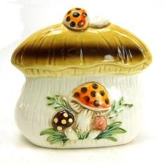 Mushroom Cookie Jars