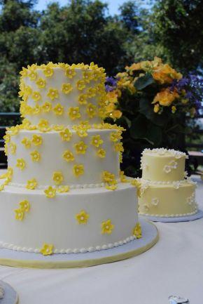 1980's Wedding Cake