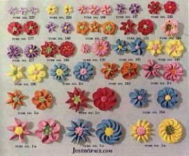 Wilton Drop Flower Instructions