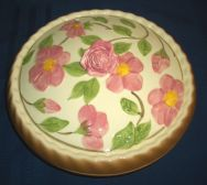 Vintage Ceramic Covered Pie Plate, Ebay.com