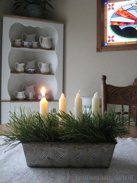 Bread Tin Holiday Display